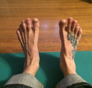 Barbie Foot Position 1 Dorsiflexion