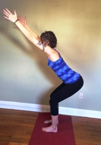 Utkatasana with smart alignment